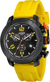 Relógio Masculino Speedo 24853gpevpu2 Analógico Preto Amare