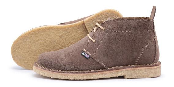 Desert Boots Estilo Clarcks De Camurça E Solado Creper
