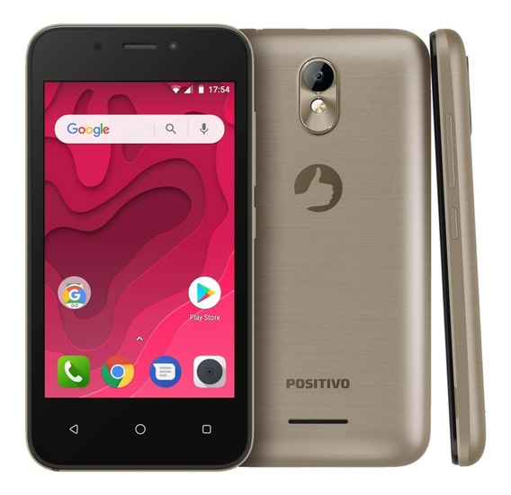 Smartphone Positivo Twist Mini S431 8gb - Dourado