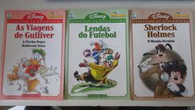 3 Gibis Disney Clássicos Da Literatura Nºs 1 Ao 40
