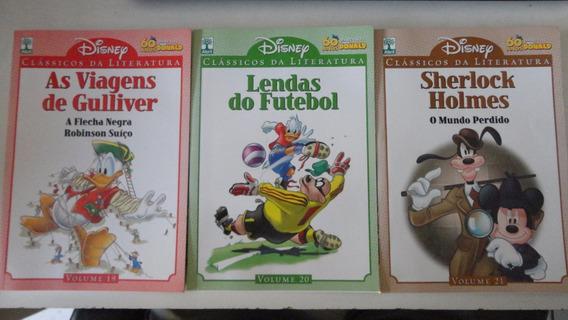 3 Gibis Disney Clássicos Da Literatura Nºs 2 Ao 37