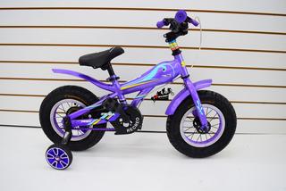 Bicicleta Rodado 12 Sbk Fat Hunter Ruedas Anchas