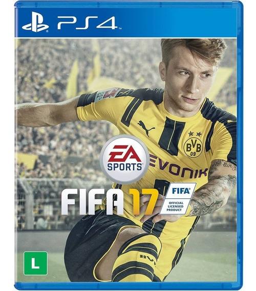 Jogo Mídia Fisica Fifa 17 Para Playsation4 Ps4 Original