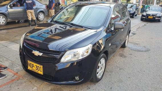 Chevrolet Sail Motor 1.4 2013 Negro