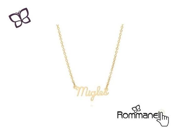 Gargantilha Migles Folheado Ouro Rommanel 532047