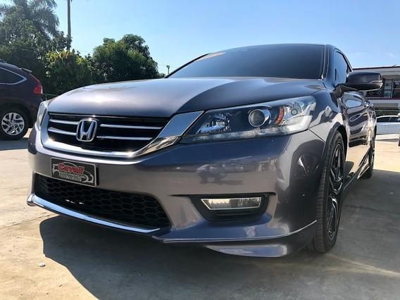 Honda Accord V6 Gris 2013