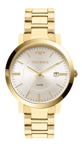 Relógio Feminino Technos Dourado 2115kzx/4k