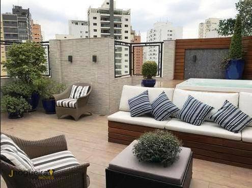 Imagem 1 de 22 de Cobertura Com 4 Dormitórios À Venda, 250 M² Por R$ 4.050.000,00 - Vila Nova Conceição - São Paulo/sp - Co0020