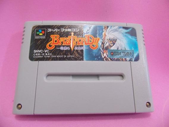 Bastard Original Para Super Nintendo Famicom Snes