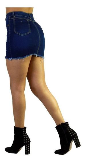 Faldas De Mezclilla Cortas Sexys Mujer De Moda 4 /j