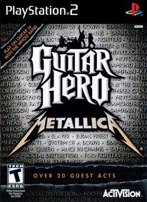Patch Ps2 - Guitar Hero Metallica - Frete Grátis