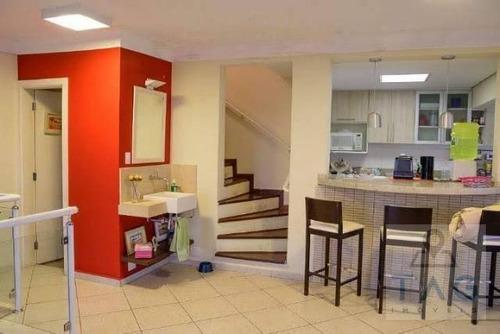 Imagem 1 de 20 de Apartamento Triplex Com 3 Dormitórios À Venda, 274 M² Por R$ 1.250.000,00 - Jardim Das Paineiras - Campinas/sp - At0002