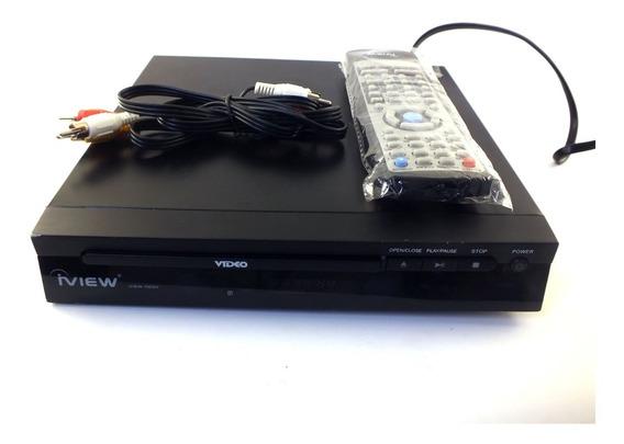 Aparelho Dvd Iview Modelo 102dv Bivolt Mostruário A11535