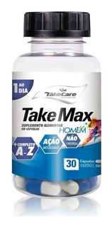Multivitamínico Take Max Homem 500mg 30 Caps - Take Care