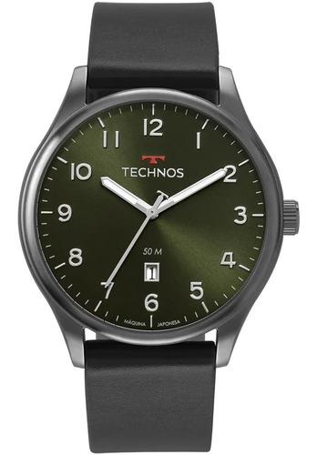 Relógio Technos Masculino Classic Steel Preto - 2115mvb/2v