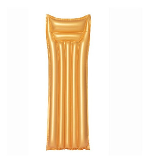 Colchoneta Inflable Flotador Gold Pileta 183 Cm Bestway