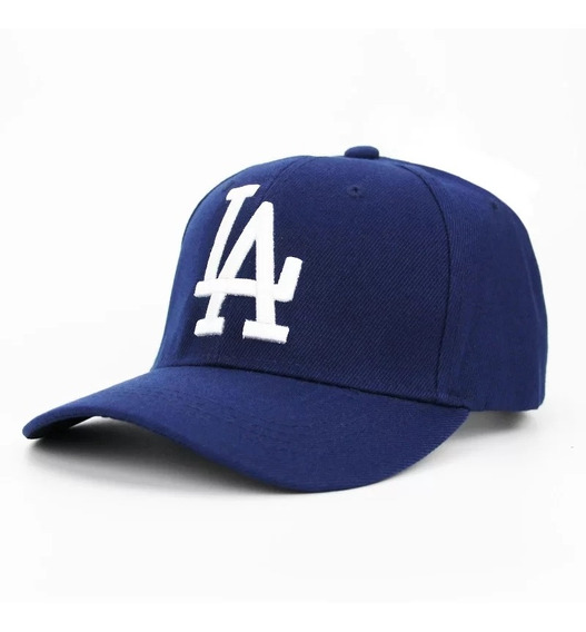 Bone Aba Curva L.a Dodgers Bordado Ajustável Cores Diversas