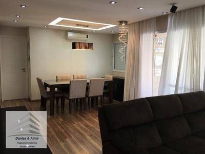 Apartamento Na Vila Augusta, Condomínio Parque Clube, 92m², 2 Vagas. - Ap0424