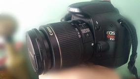 Câmera Profissional Canon Eos T2i + Lente
