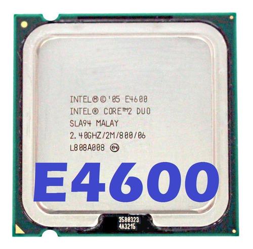 Imagem 1 de 7 de Processador Intel Core 2 Duo E4600 2.40ghz Fsb800 2mb Lga775