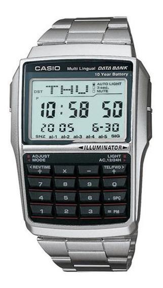 Relógio Masculino Digital Casio Dbc-32d-1adf - Prata