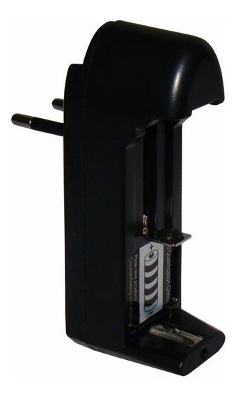 Carregador Bateria 14500 18350 18650 Lanterna Bivolt Kitli@