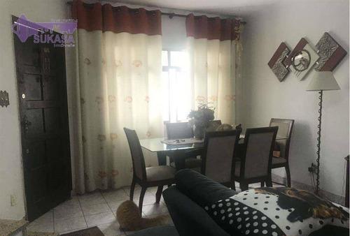 Sobrado Com 2 Dormitórios À Venda, 111 M² Por R$ 617.000,00 - Santa Maria - São Caetano Do Sul/sp - So0501