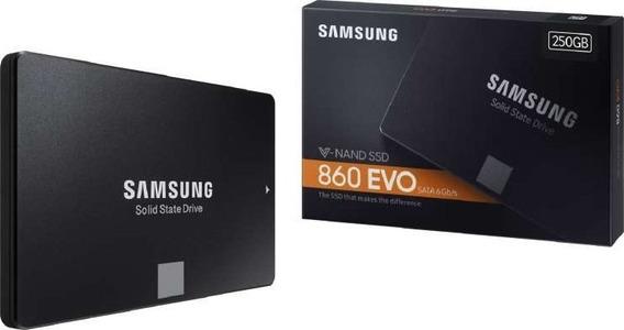 Ssd Samsung Evo 860 250gb Lacrado Original - Ultimas Und!!!
