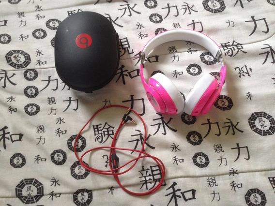 Beats Studio 2.0 Pink Original - Com Fio