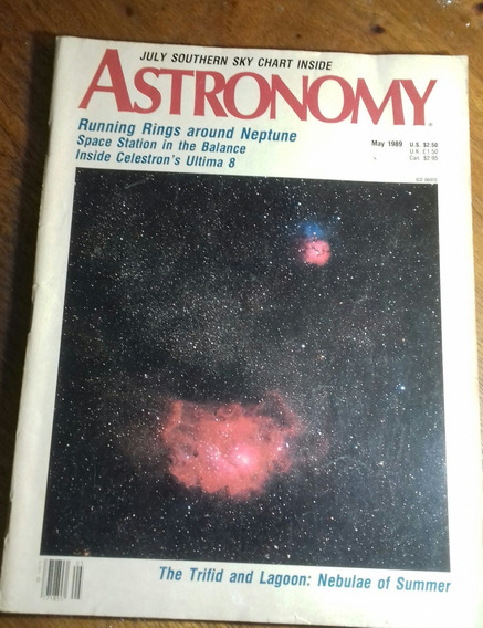 Revista Canadense Astronomy May 1989