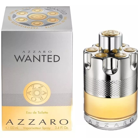 Perfume Azzaro Wanted Edt Masculino 100ml- Original