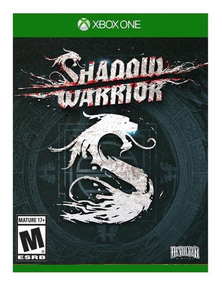 Jogo Shadow Warrior Xbox One Mídia Física| Vitrine