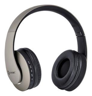 Fone Headset Bluetooth Fm Leitor Micro Sd Cabo P2 Vinik