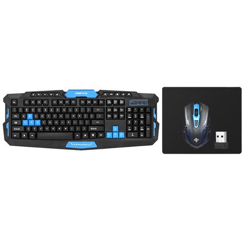 Imagem 1 de 6 de Dsfy 2.4ghz Wireless Gaming Keyboard Mouse Combo 19 Keys