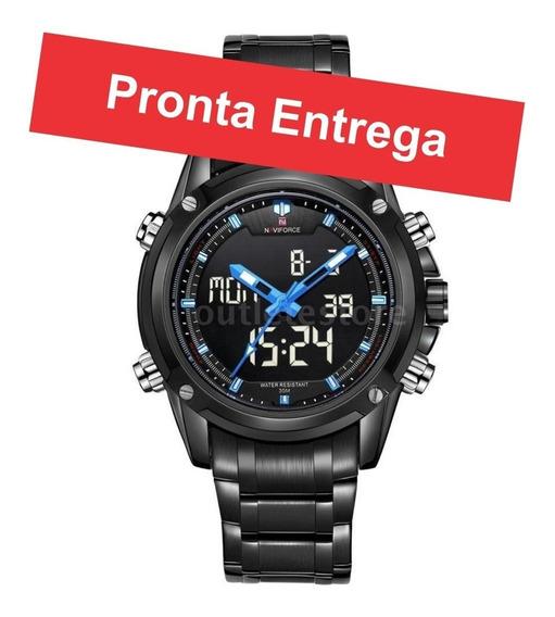 Relógios Masculinos Naviforce Luxo Esportivo Original Promoção