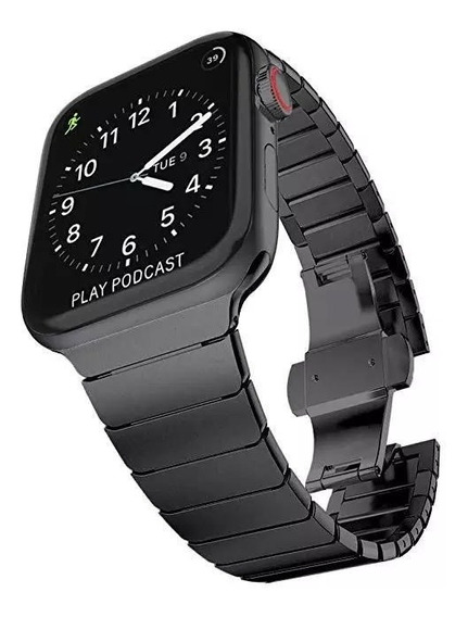 Correa Apple Watch Acero Inoxidable 42/44mm Iwatch J10