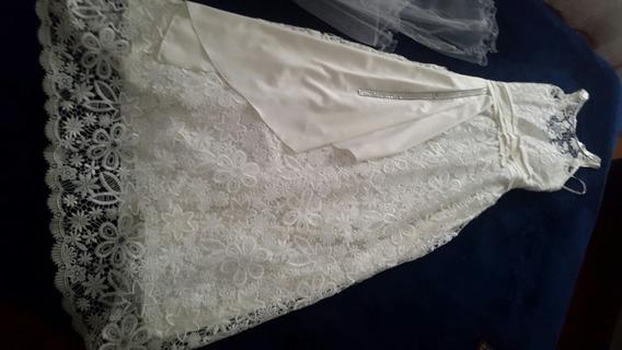 Vestido De Novia De Guipor