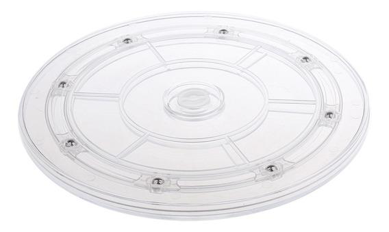 Chapa Mesa Giratória Plástico Chapa Rotativo Base Disco Ve