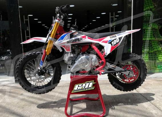 Moto A Gasolina Para Niños 4 Tiempos Nueva Cross 60cc
