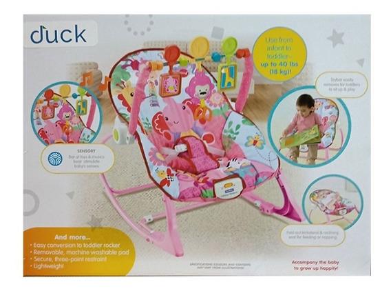 Duck Baby Mecedora C/vibrador Rosa 100116