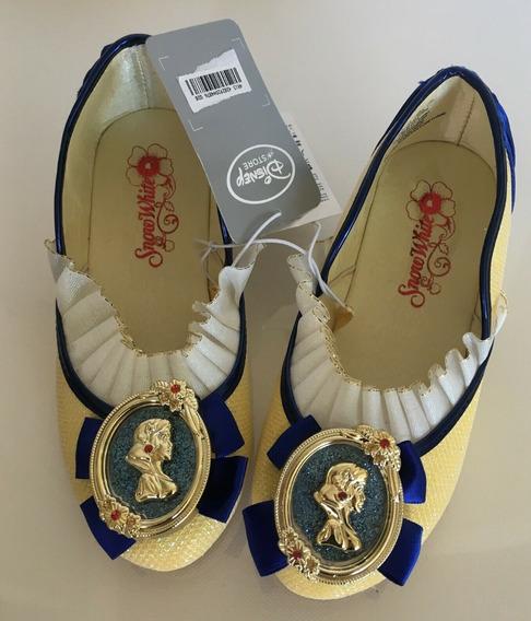 Sapato Branca De Neve Original Loja Disney P/entrega