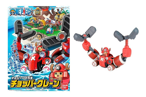 Imagen 1 de 3 de Chopper Robot 5 Chopper Crane One Piece Bandai Model Kit