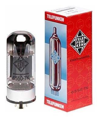 Amplificador Telefunken Black Diamond 6550-tk Vacuum Tube ®