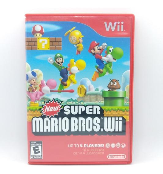 New Super Mario Bros Wii Nintendo Midia Fisica Original Game