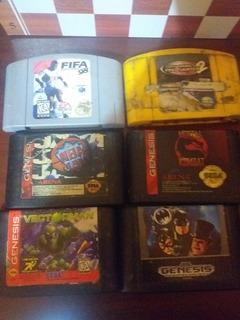Cassetes Nintendo Sega Y Cassetes Nintendo 64