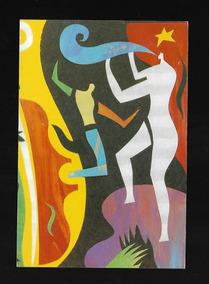 Lote De 4 Antigos Postais Free Jazz (p102)