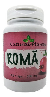 Roma 120 Cápsulas 500 Mg Anti Envelhecimento