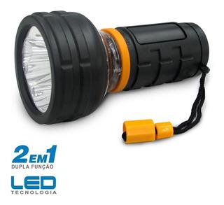 Lanterna Manual Led Ng2000 Dupla Funcao - Incasa