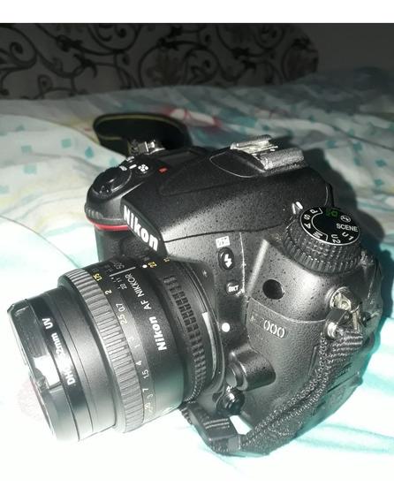 Vendo Nikon D7000+lente 50mm+lente Olho De Peixe+carregador+