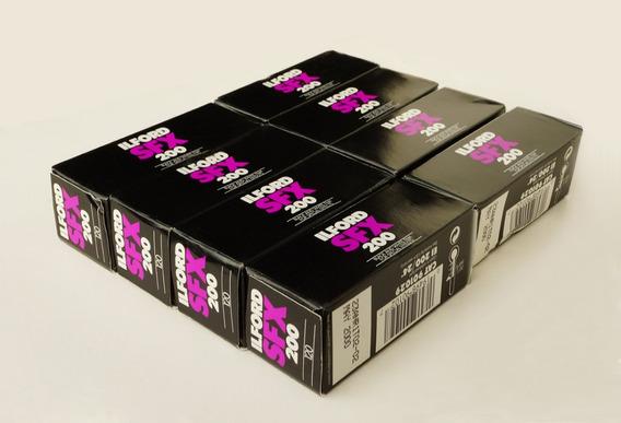 Filmes Infrared P&b 120: 4 Ilford Sfx 200 - Vencidos